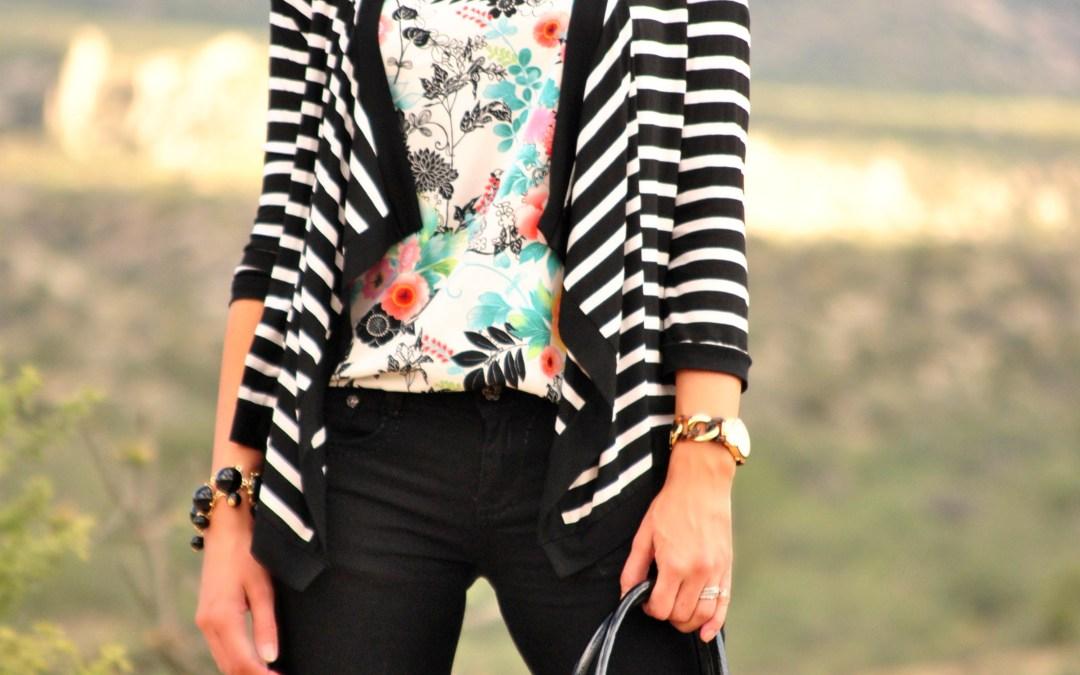 I Feel Pretty | in Floral + Stripes