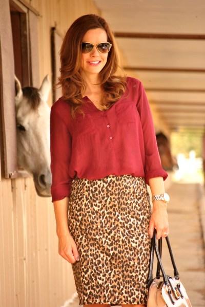 Leopard Alison Half
