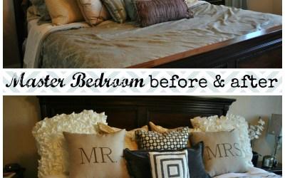 Pretty Living | Master Bedroom Refresh