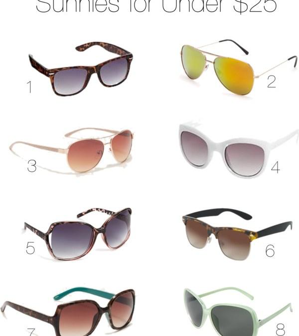 Best Sunglasses Under $25