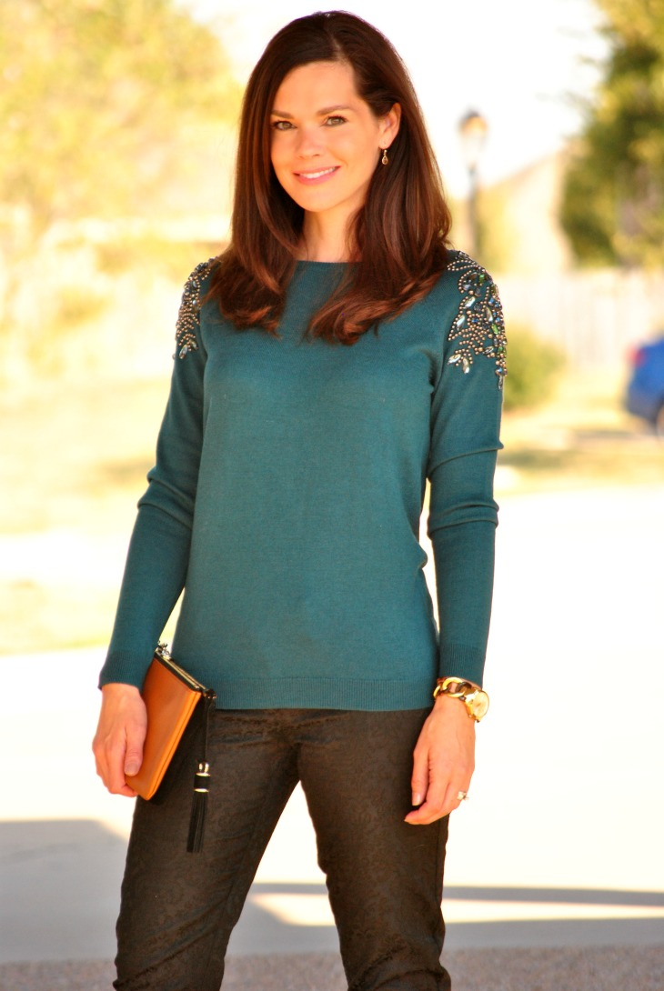 dressy-sweater-black-pants