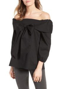 nordstrom anniversary sale 2017 bow front top
