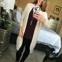 SAHMonday: Long Cardigan Two Ways + Sneak Peek!