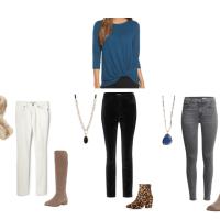 Pretty Fix December:  Three Ways to Wear a Twist Front Sweater