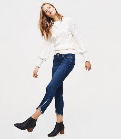 tulip hem jeans spring 2018 trend