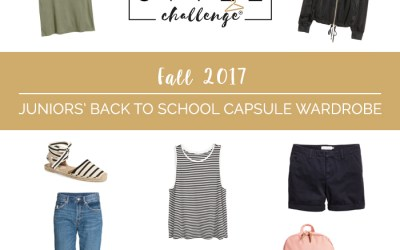 Fall 2017 Juniors Back to School Shopping List + Outfits
