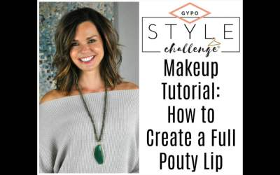 Video Tutorial:  How to Create a Full Pouty Lip