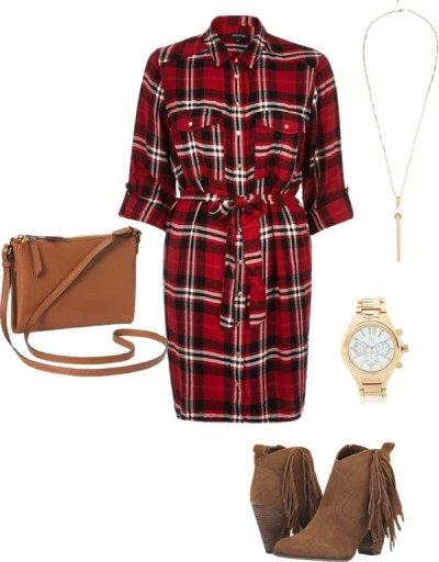 Why You're Going to Want a Plaid Dress this Fall