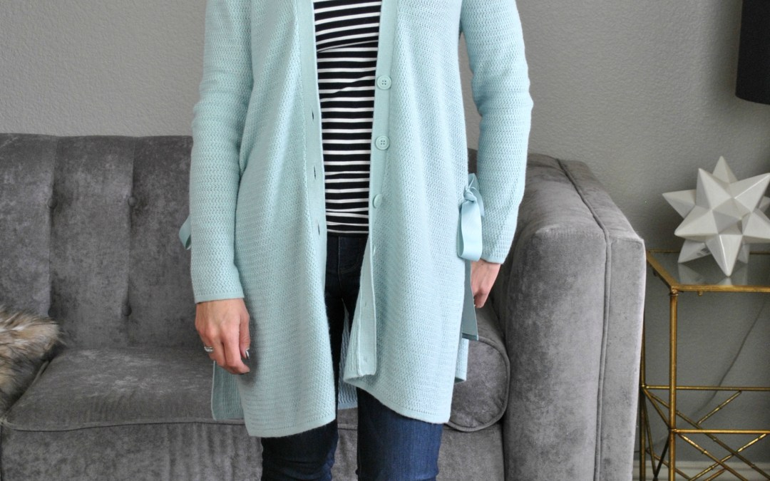 Mint and Stripes Spring Outfit Formula