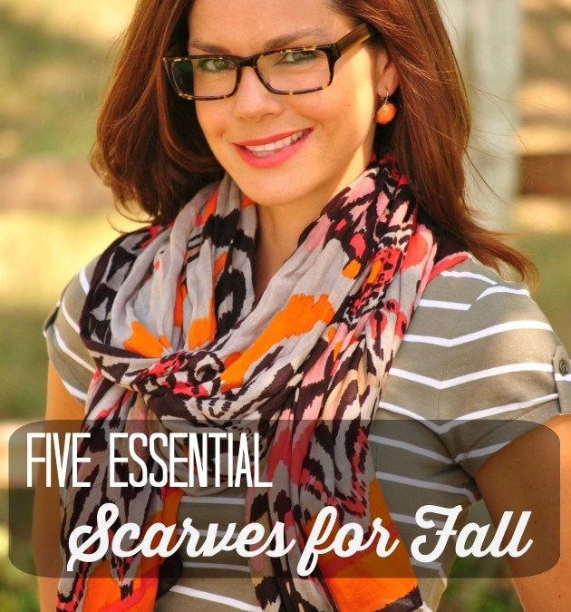 Five Essential Scarves for Fall