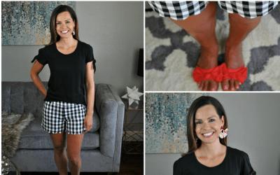 SAHMonday: Gingham Shorts – Take Two