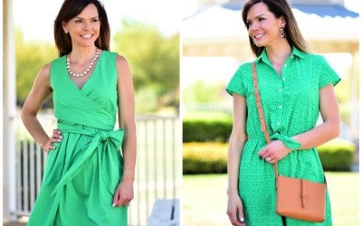 It's SO Easy Being Green in These Dresses!