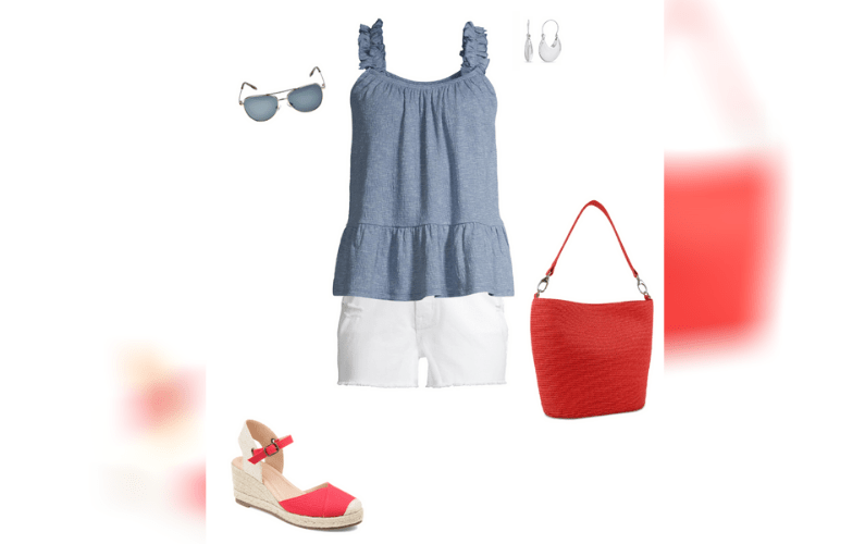 A Little Red, White and Blue for Your 4th of July