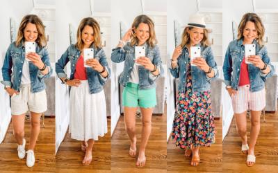 Five Ways to Wear It – How to Style A Denim Jacket