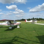 G-CCNT and G-NSBB Ikarus C42s