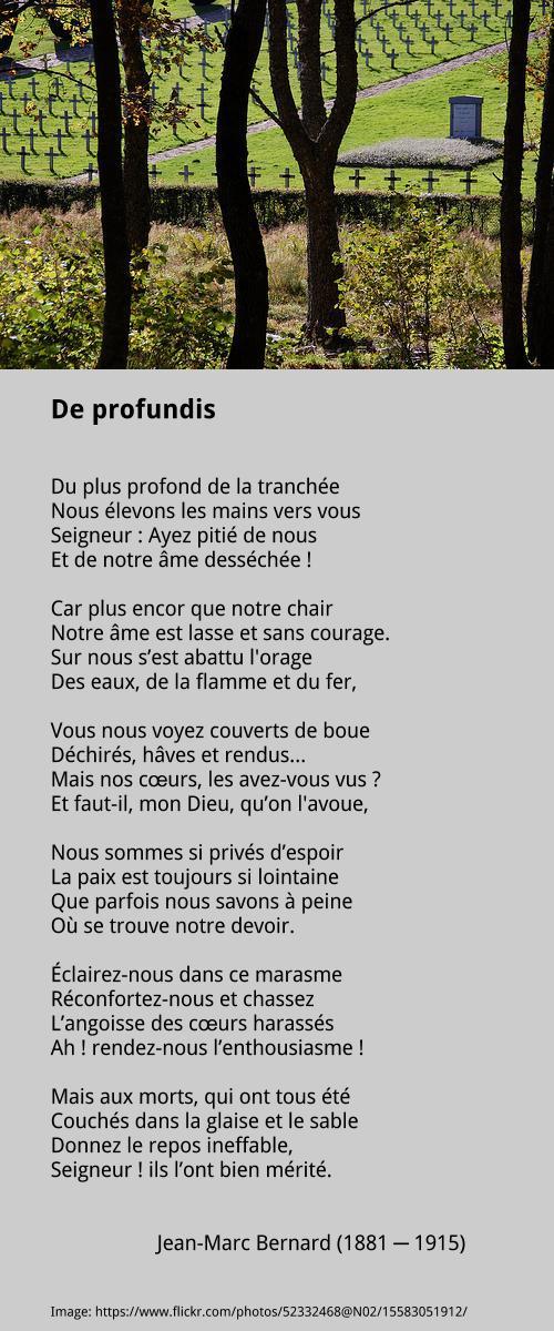 Jean-Marc Bernard – De profundis