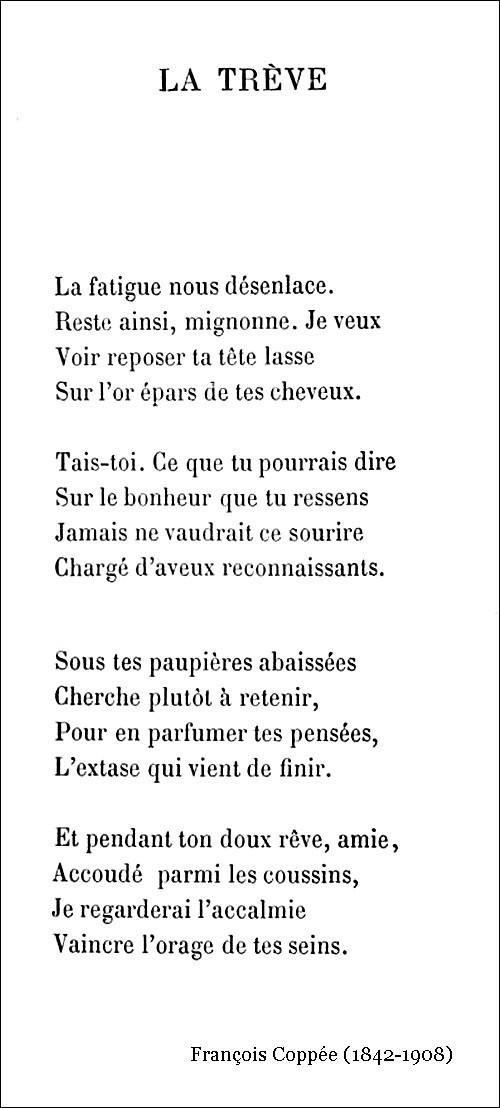 François Coppée – La Trève