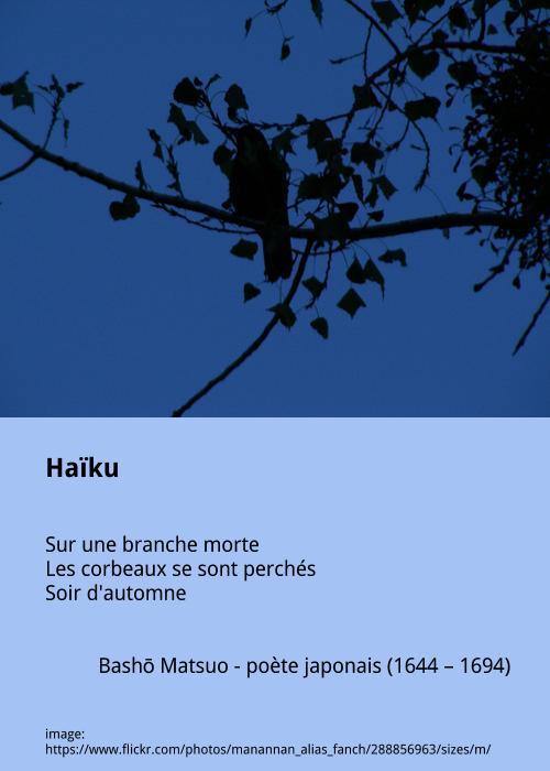 Bashō Matsuo – Haïku