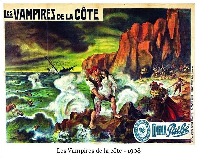 Les Vampires de la côte – 1908