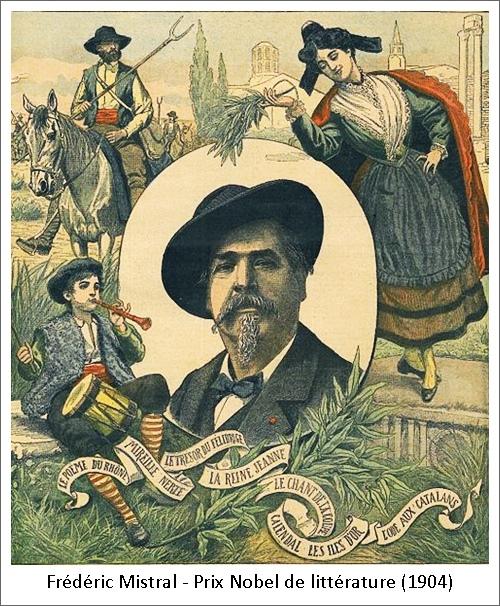 Frédéric Mistral – Prix Nobel de littérature (1904)