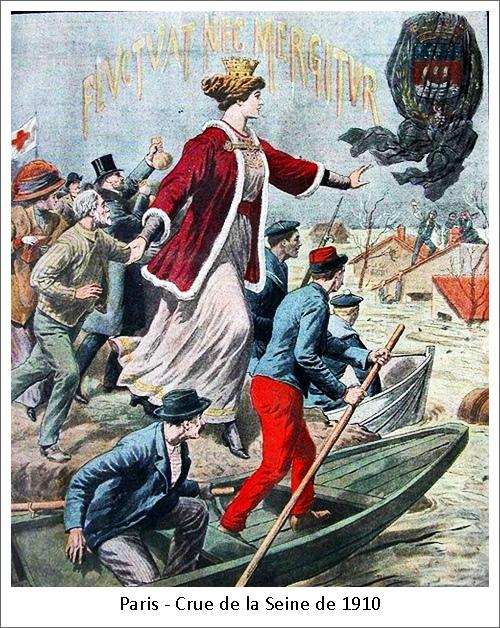 Paris – Crue de la Seine de 1910