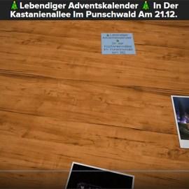 Lebendiger Adventskalender: <br> Nachbarschaft Kastanienallee