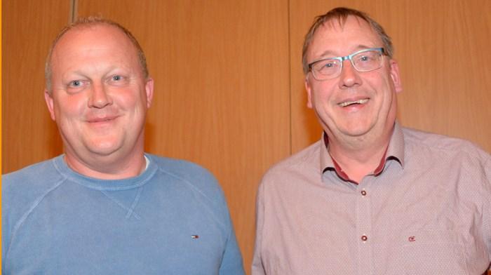 Alexander Czerwenka und Ulrich Grothe, die neuen Vorstandsvorsitzenden. Danke an Kristina Mehlert für das Foto.