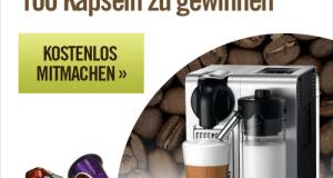 Kaffeemaschine gewinnen Vorschau