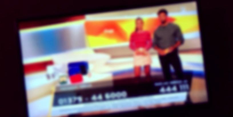 Taff Gewinnspiel Tv-Bild unscharf