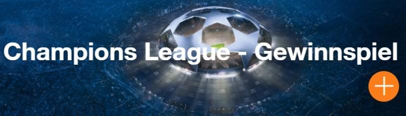 Champions League Gewinnspiel Screenshot ZDFsport