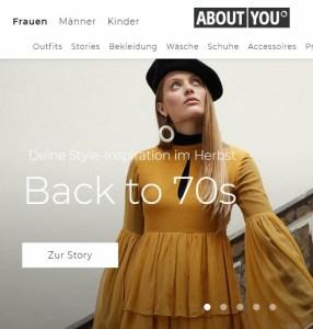 ABOUTYOU.de Screenshot