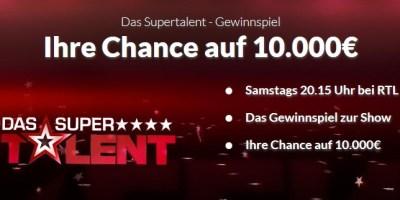 Das Supertalent Gewinnspiel Screenshot