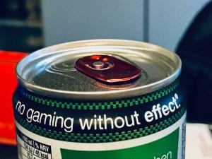 Effect Energy Gewinncode unter der Lasche