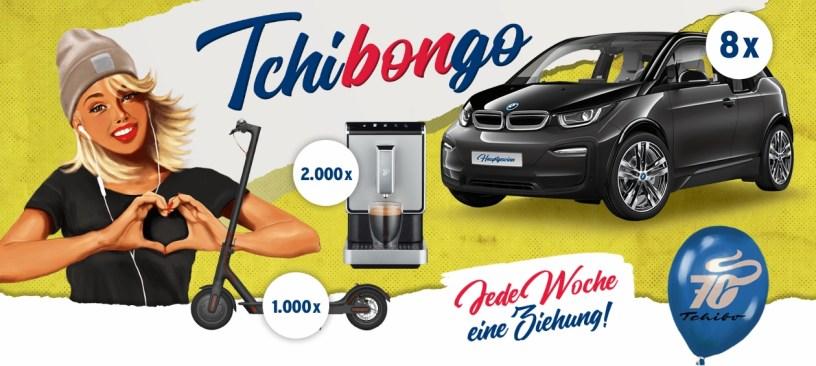 Tchibongo Tchibo Gewinnspiel