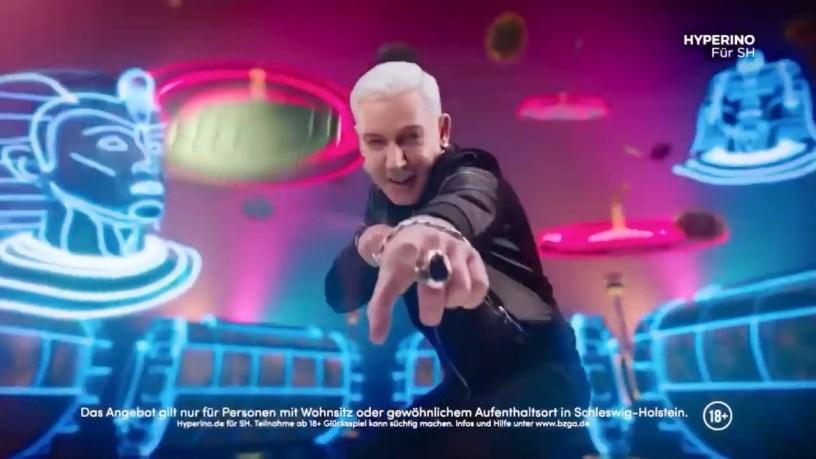 Scooter Hyperino-Werbung