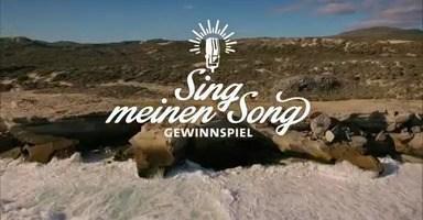 VOX Sing meinen Song Gewinnspiel TV-Bild