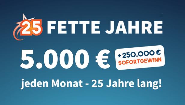 250.000 EURO CHANCE