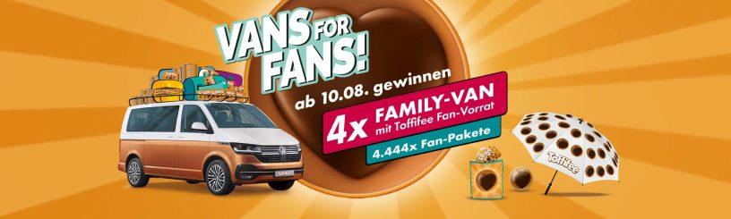 Toffifee Vans for Fans Gewinnspiel