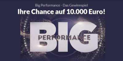 Big Performance Gewinnspiel