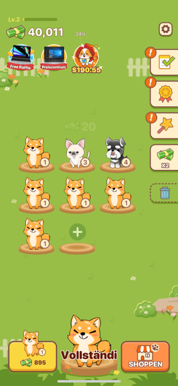 Puppy Town App Screenshot