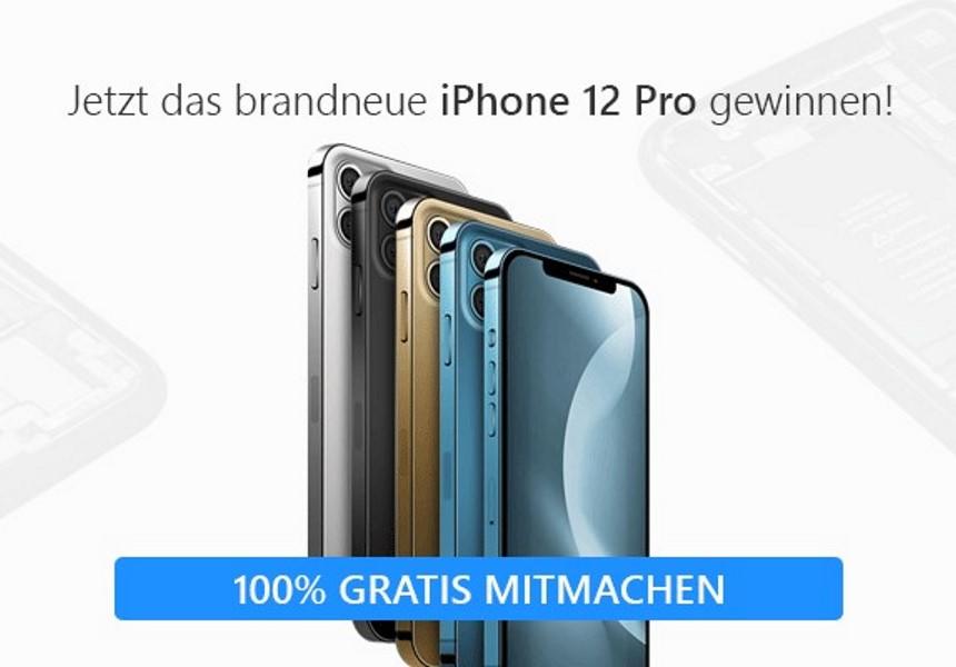 Gewinne ein Apple iPhone 12 Pro