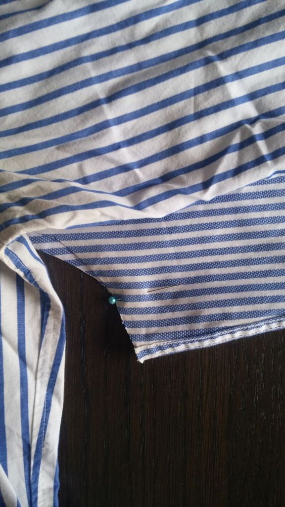 restyle men's shirt DIY (13)