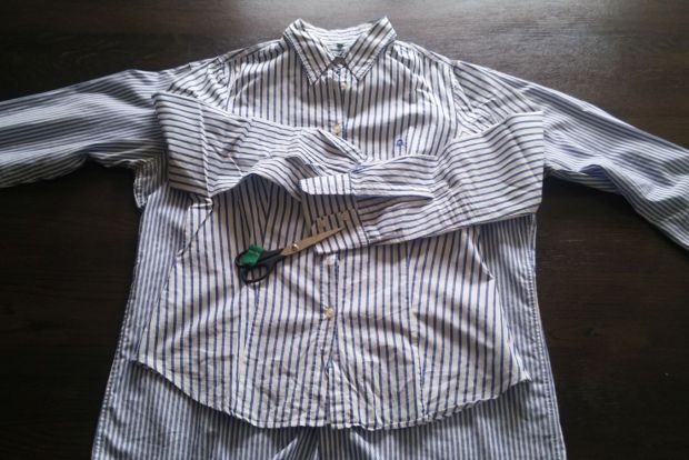 restyle men's shirt DIY (2)
