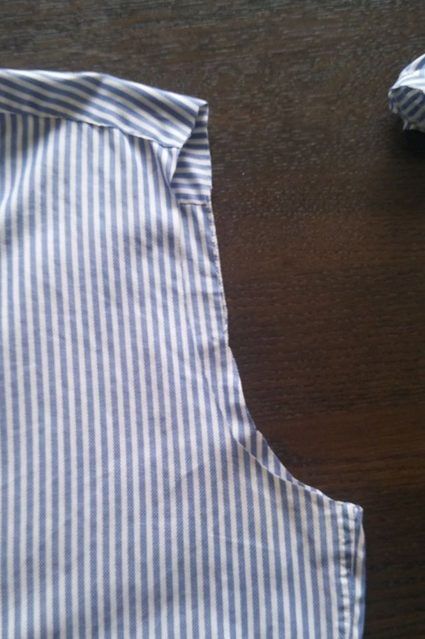 restyle men's shirt DIY (4)