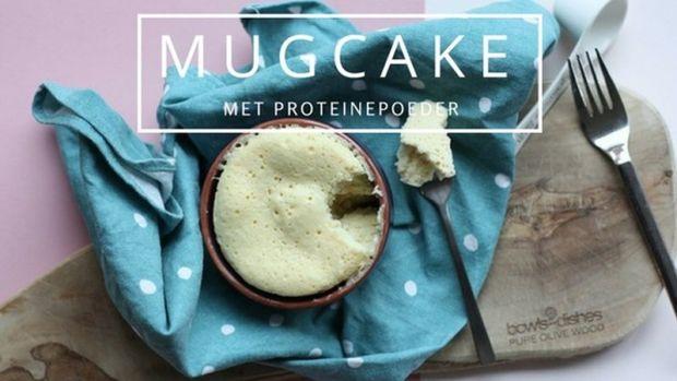 mugcake met proteine