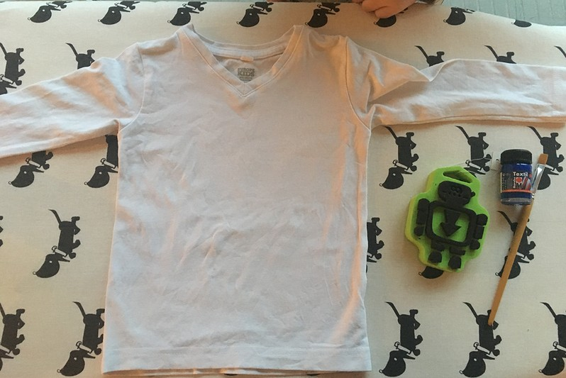 t-shirt stempelen diy (1)-