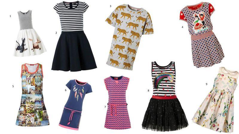 tijd voor een nieuwe jurk - meisjes