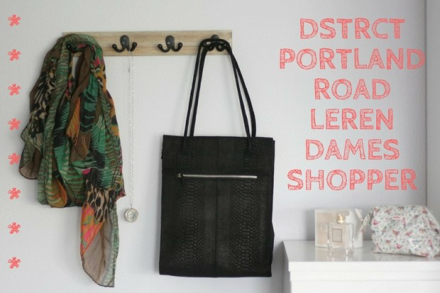 DSTRCT Portland Road Leren Dames Shopper