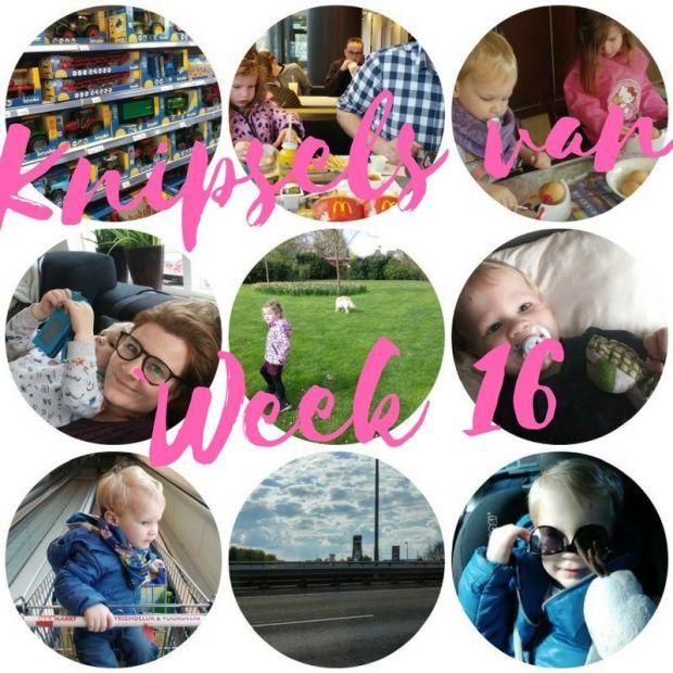 Knipsels van week 16