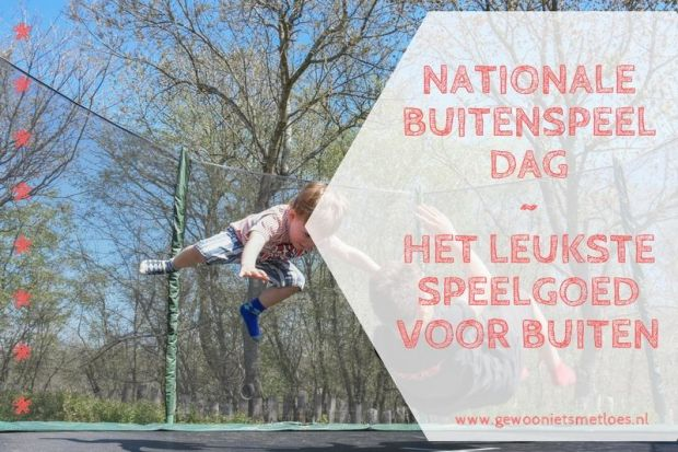 Nationale buitenspeeldag